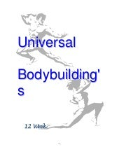 Body Building   Universal 12 Week B...