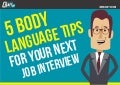 5 Body Language Tips for your Next Job Interview