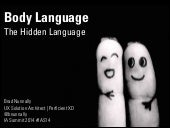 Body Language The Hidden Language