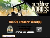 Oil Traders Words