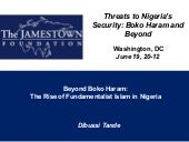 Boko haram  rise and spread of fund...