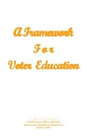 A Framework for Voter Education in ...