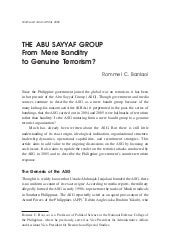 Book chapter asg banditry or terrorism