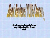 Book fair reviews ppt