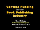 Venture Funding in the Book Publishing Industry