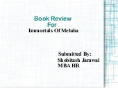 Book review for Immortals of Meluha
