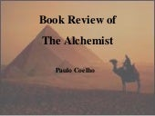 Book review  the alchemist