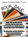 Spring Book Sale Flyer
