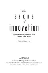 Book seeds of innovation
