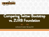 Bootstrap vs Foundation version 4