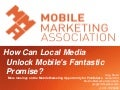 Borrell Local Media Conference Keynote - Local is Mobile