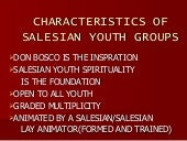 Bosco youth