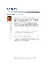 Bosley Medical - Our Doctors & Spec...