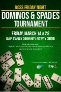 BOSS Dominos and Spades Tournament