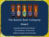 Boston Beer Company Presentation