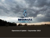 Botswana Diamonds Plc video