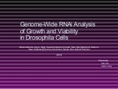 Genome-Wide RNAi Analysis of Growth...