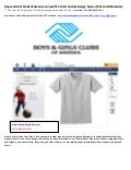Boys and Girls Clubs of America non profit t shirts Custom Design Screenprint and Embroidery
