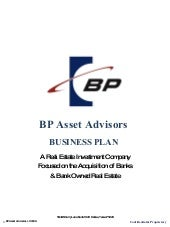 Bp Asset Advisors   2009 Business P...
