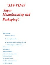 Sugar Industry Business Plan
