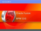 Oracle BPM 11G Installation