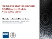 From Conceptual to Executable BPMN Process Models A Step-by-Step Method