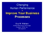 Changing Human Performance to Impro...