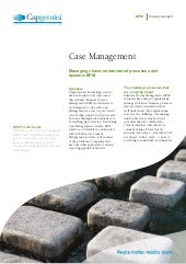 Case Management: Managing chaos: un...