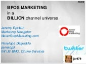 Best Practices in BPOS Marketing