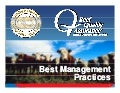 Best Management Practices in Beef