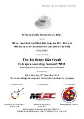BQe Youth Entrepreneurship Summit 2...