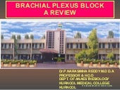 Brachial plexus block new