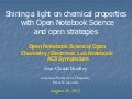 Bradley Open Notebook Science ACSfall2012