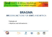Bragma project presentation natural...