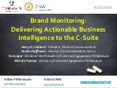 Brand Monitoring to the C-Suite