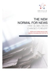 "Estudo ""The New Normal for News"" - ..."