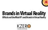 Brands in Virtual Reality