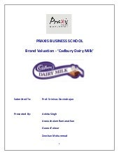 Brand Valuation - Cadbury Dairy Milk