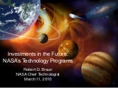 Investments in the Future: NASA's T...