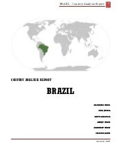 Brazil   country analysis report [t...