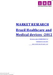 Brazil healthcare and medical devic...