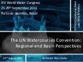 The UN Watercourses Convention: Reg...