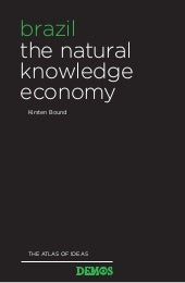 Brazil - The Natural Knowledge Economy