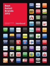 Interbrand's Best Retail Brands 2012