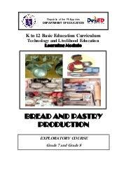 K to 12 Bread and Pastry Learning M...