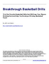 Breakthrough drills  basketball for...