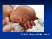 Breastfeeding effective practices, ...