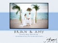 Brian And Amy Beach Wedding Photos Album Design - Ocean Manor Hotel - Fort Lauderdale Florida