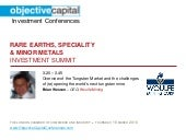 Objective Capital Rare Earth and Mi...