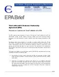 Brief: Customs and Trade Facilitation In The EPA